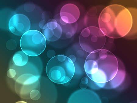 resumen brillante c�rculos sobre un fondo de colores