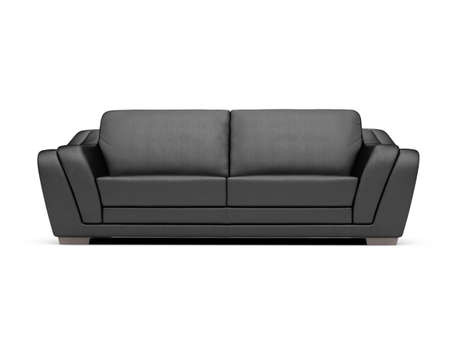 isolated couch over white background Stock Photo - 4684308