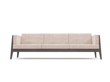 isolated couch over white background Stock Photo - 4684310