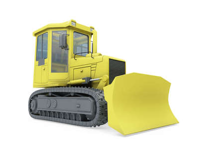 Isolated construction truck over white background Stock Photo - 5650668