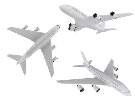 jetliner: Isolated collection of airplane