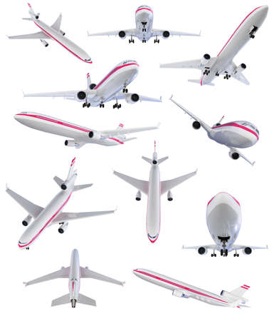 jetliner: Isolated collection of aircraft