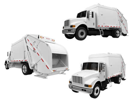 dumptruck: Isolated collection of dump truck