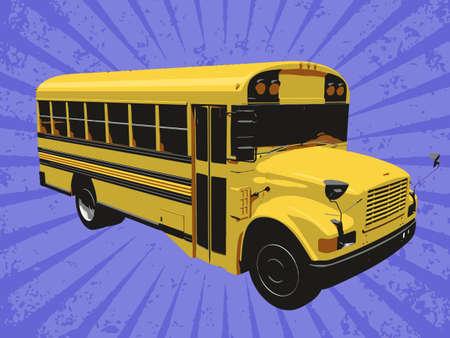 Vector bus Stock Vector - 6454210