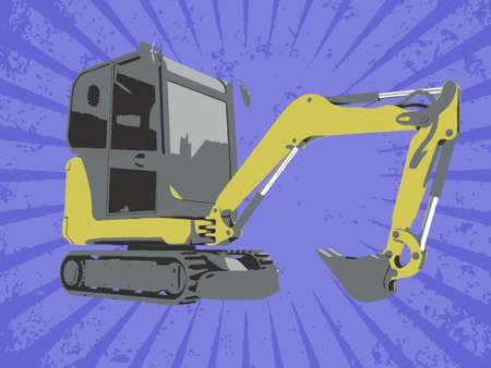 Vector construction truck Stock Vector - 6454188