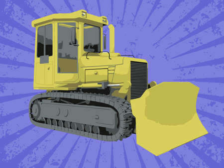 Vector construction truck Stock Vector - 6454216