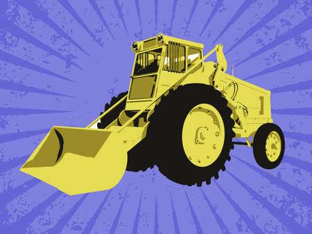 Vector construction truck Stock Vector - 6454245