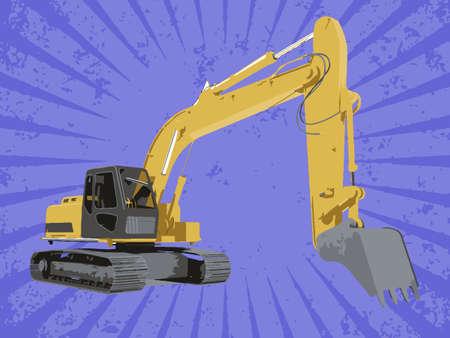 Vector construction truck Stock Vector - 6454224