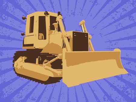 Vector construction truck Stock Vector - 6454244