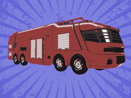firetruck: Vector firetruck