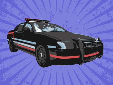 Vektor Polizei Auto