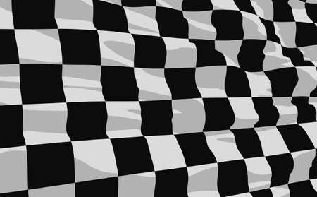 finishing checkered flag:  checkered flag