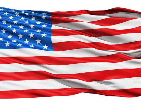 bandera estados unidos: Realista en 3D de bucle sin fisuras de los Estados Unidos EE.UU. bandera ondeando en el viento