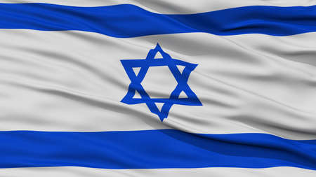 resolution: Closeup Israel Flag, Waving in the Wind, High Resolution Stock Photo