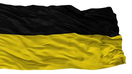 Namur City Flag, Country Belgium, Isolated On White Background