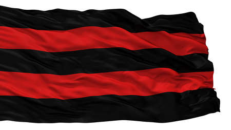 Scherpenheuvel Zichem City Flag, Country Belgium, Isolated On White Background