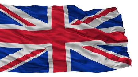 United Kingdom City Flag, Country Uk, Isolated On White Background