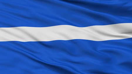 Keila City Flag, Country Estonia, Closeup View Фото со стока