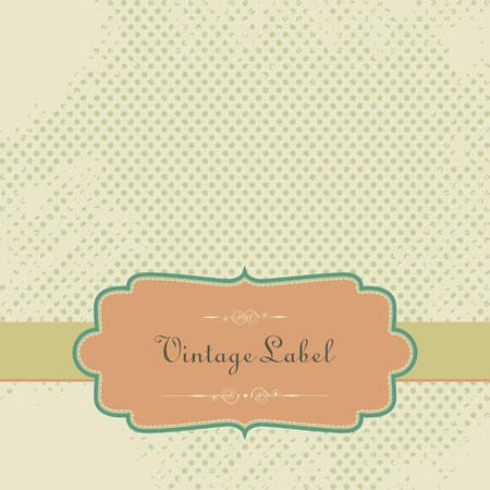 Vintage Scrapbook Paper With Tag Royalty Free Cliparts Vectors And