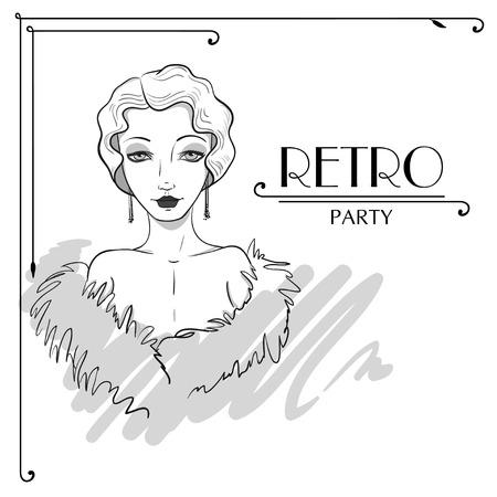 Invitation of Mafia Party Vector