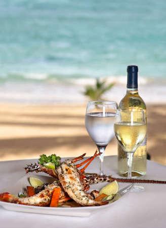 lobster dinner: LOBSTER