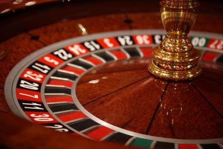 pokers: CASINO ROULETTE Stock Photo