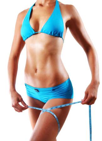 diet woman body photo