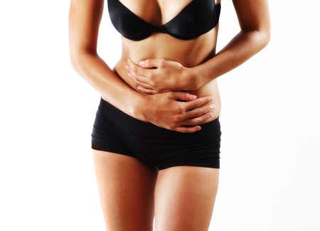 intestino: dolor de stomah Foto de archivo