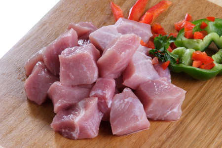 row meat photo