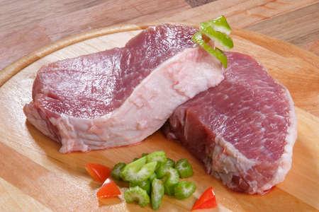 row meat Stock fotó