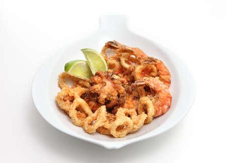 calamares: mixed seafood