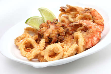 marisco: mixed seafood