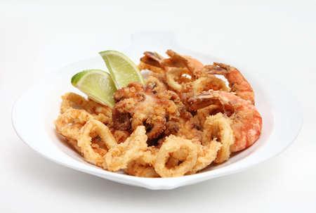 prawn: una mezcla de mariscos