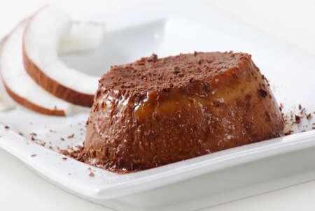 chokolat pudding photo