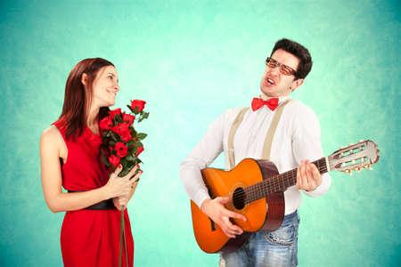 Funny Valentine 版權商用圖片 - 25886620