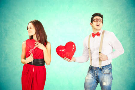 playful behaviour: Funny Valentine