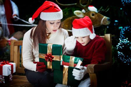 クリスマス プレゼントのおかげで叔母