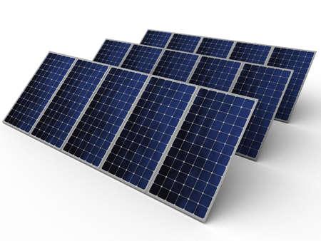 Solar panels in series