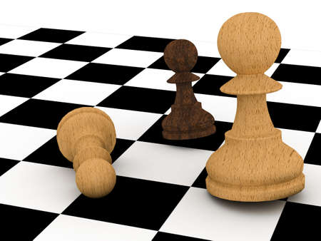 Chess pawn photo