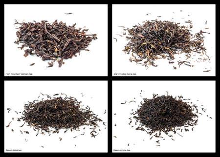 assam tea: Various tea: High mountain Vietnam, Marynin gfop kenia, Assam india and Keemun cina