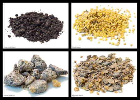 Styrax balsam black, greek incense, incense of Ethiopia and migiurtino incense