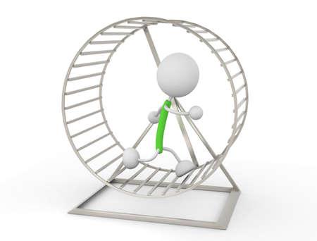 Hamster Wheel Stock Photo - 14686497