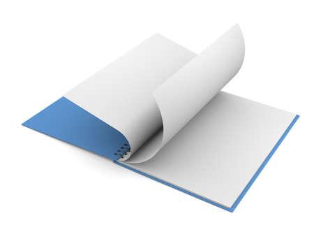 Notepad Reklamní fotografie
