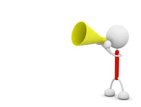 megaphone illustrations