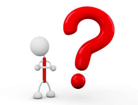 Question mark illustrations