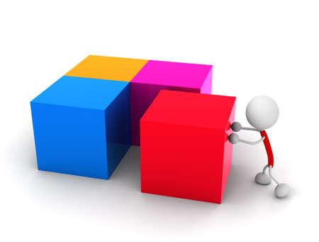 Assemble Illustrations Stock Photo