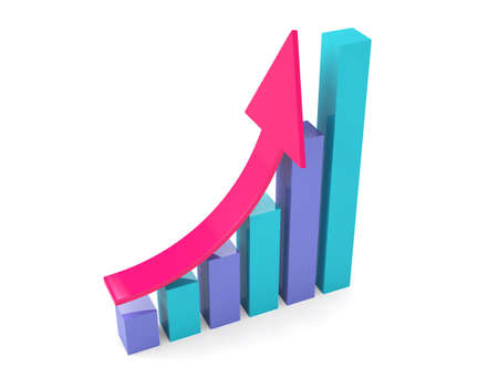 Graph Illustrations Stock Photo