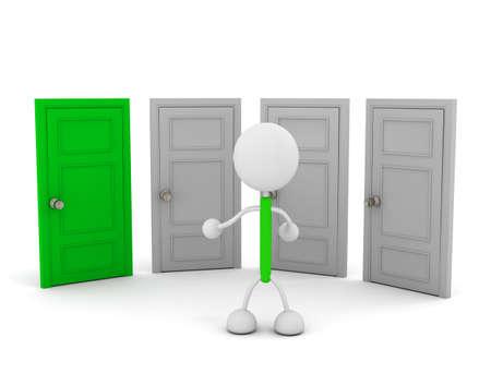 Doors Illustrations Stock Illustration - 114059936