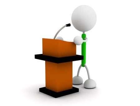 Speech Illustrations Stock Photo