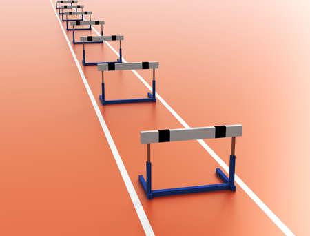 Tracks and hurdles